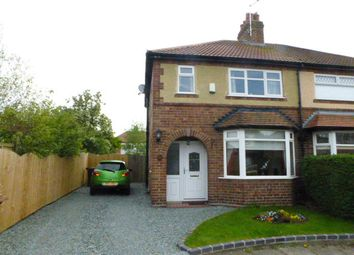 Thumbnail 3 bed semi-detached house to rent in Walford Avenue, Crewe, Cheshire