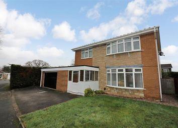 Thumbnail 4 bed detached house for sale in Whitegates Close, Willaston, Neston