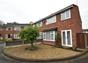 Thumbnail 3 bed semi-detached house for sale in School Road, Wychbold, Droitwich, Worcestershire