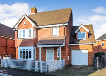 Thumbnail 4 bed detached house for sale in Lowbury Gardens, Compton, Newbury