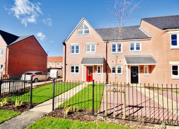 Thumbnail 4 bed town house for sale in Wellspring Road, Finedon, Wellingborough