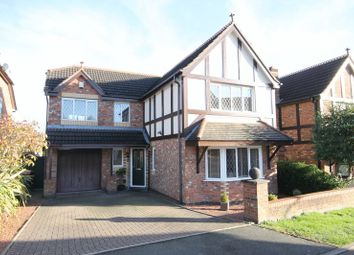 Thumbnail 4 bed detached house for sale in Shaftesbury Close, Priorslee, Telford