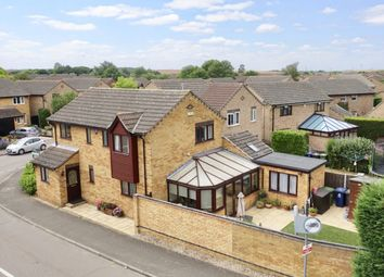 Thumbnail 4 bed detached house for sale in Crane Street, Brampton, St. Neots