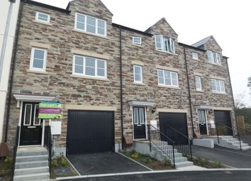 Thumbnail 4 bed town house to rent in Gwithian Road, St. Austell