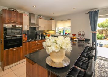 Thumbnail 4 bed semi-detached house for sale in Wickham Road, Holborough Lakes, Snodland