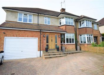Thumbnail 4 bed semi-detached house for sale in Gallows Hill Lane, Abbots Langley, Herts