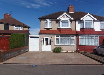 Thumbnail 3 bed semi-detached house for sale in Mapleton Crescent, Enfield