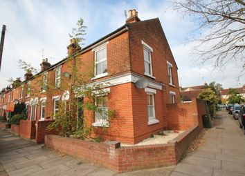 Thumbnail 3 bed end terrace house to rent in Canterbury Road, Colchester