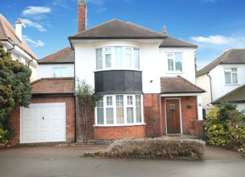 Thumbnail 4 bed detached house for sale in Grenfell Road, Stoneygate, Leicester