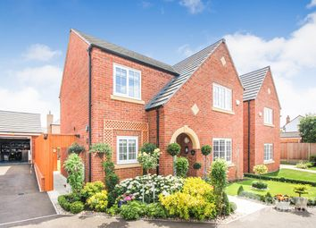 Thumbnail 4 bed detached house for sale in Turnpike Gardens, Bedford