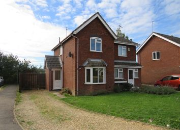 Thumbnail 2 bed semi-detached house to rent in Farrow Avenue, Holbeach, Spalding