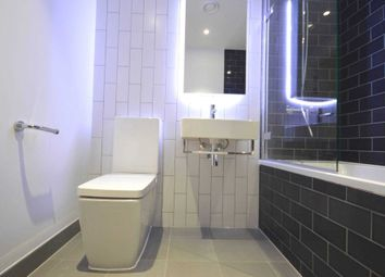 Thumbnail 1 bed flat to rent in North Woolwich Road, London