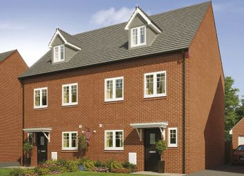 Thumbnail 4 bed semi-detached house for sale in Royal Park, The Long Shoot, Nuneaton
