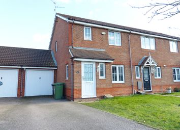 Thumbnail 3 bedroom end terrace house for sale in Ferndale, Yaxley, Peterborough
