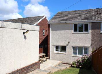 Thumbnail Semi-detached house for sale in Cross Acre, West Cross, Swansea