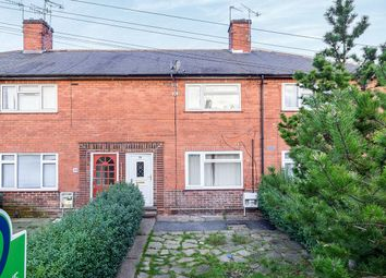 Thumbnail 3 bed terraced house for sale in Tissington Road, Forest Fields, Nottingham