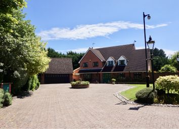 Thumbnail 5 bed detached house for sale in Hamlet Hill, Roydon, Nr Harlow