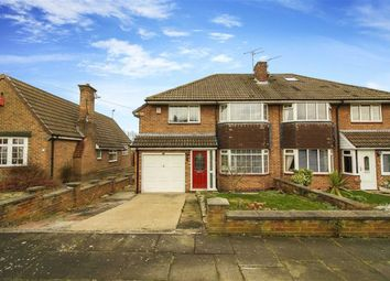 Thumbnail 3 bed semi-detached house for sale in Ridgely Drive, Ponteland, Northumberland