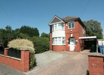 Thumbnail 3 bed detached house to rent in Norris Road, Sale
