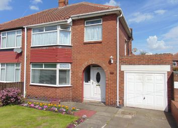 Thumbnail 3 bed semi-detached house for sale in Kenton Lane, Kenton, Newcastle Upon Tyne