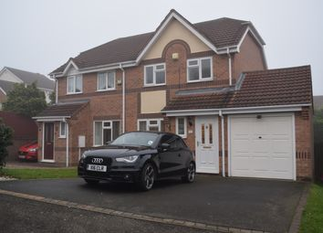 Thumbnail 3 bed semi-detached house to rent in Claymar Drive, Newhall, Swadlincote.