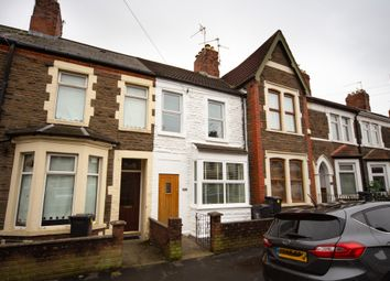 Thumbnail 2 bed terraced house for sale in Strathnairn Street, Roath, Cardiff