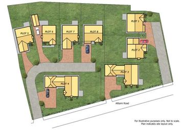 Thumbnail 4 bed semi-detached house for sale in Alltami Heath, Alltami Road, Buckley