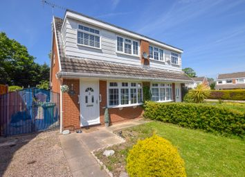 Thumbnail 3 bed semi-detached house for sale in Dearnford Avenue, Eastham, Wirral