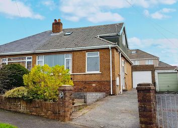 Thumbnail 2 bedroom bungalow to rent in Penyrallt Avenue, Bridgend