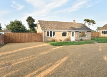 Thumbnail 3 bed detached bungalow for sale in Willow Close, Holywell Row, Bury St. Edmunds