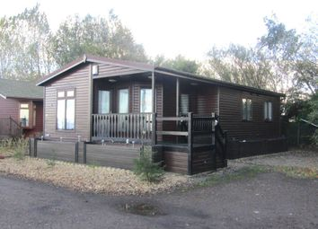 Thumbnail 2 bed lodge for sale in Staffurths Bridge, March
