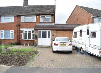 Thumbnail 3 bed semi-detached house for sale in Linden Road, Dunstable, Bedfordshire