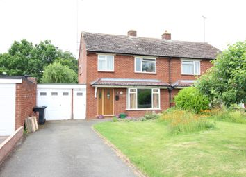 Thumbnail 3 bed semi-detached house for sale in Gerard Road, Alcester