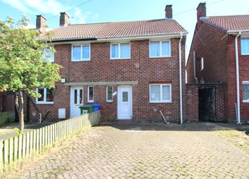 Thumbnail 2 bed semi-detached house to rent in Hallside Road, Blyth