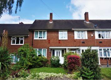 Thumbnail 3 bed terraced house for sale in Hadlow Croft, Sheldon, Birmingham