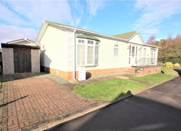 Thumbnail 3 bed mobile/park home for sale in Fairfield Park, Wellow Road, Ollerton, Newark