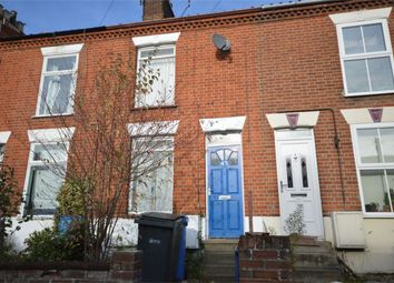 Thumbnail 2 bed terraced house for sale in Wodehouse Street, Norwich