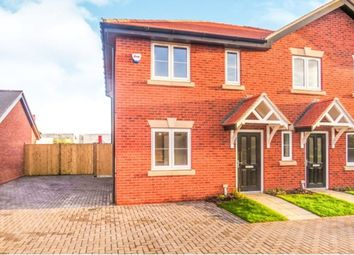 Thumbnail 2 bed semi-detached house for sale in Acres Walk, Beck Row, Bury St. Edmunds