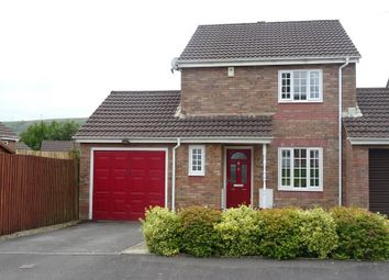 Thumbnail 3 bed link-detached house for sale in Springfield Gardens, Hirwaun, Aberdare