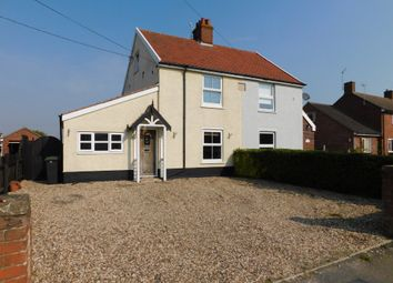 Thumbnail 4 bed semi-detached house for sale in Bildeston Road, Combs, Stowmarket