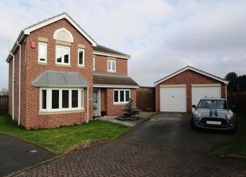 Thumbnail 4 bed detached house for sale in Heather Gardens, North Hykeham, Lincoln