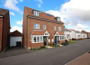 Thumbnail 4 bed semi-detached house for sale in Ashfield Drive, Letchworth Garden City
