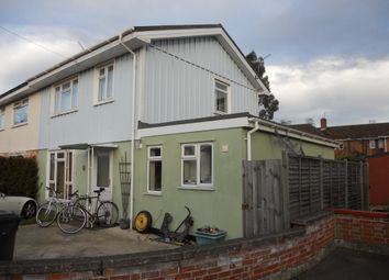 Thumbnail 1 bedroom semi-detached house to rent in Priscilla Close, Norwich