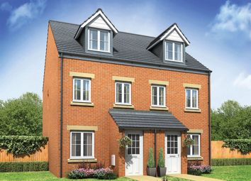 "Thumbnail 3 bedroom end terrace house for sale in ""The Souter"" at Derwen View, Brackla, Bridgend"