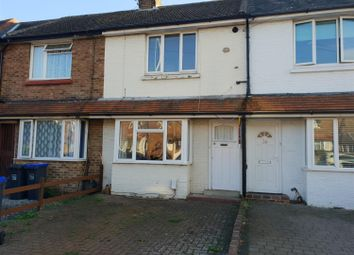 Thumbnail 2 bed terraced house to rent in Leigh Road, Worthing, West Sussex