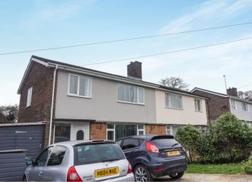 Thumbnail 3 bedroom semi-detached house for sale in Worcester Road, Newport