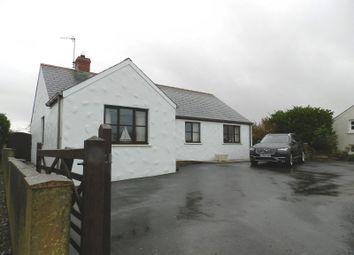 Thumbnail Detached bungalow for sale in Croes Garreg, Croesgoch, Haverfordwest, Pembrokeshire
