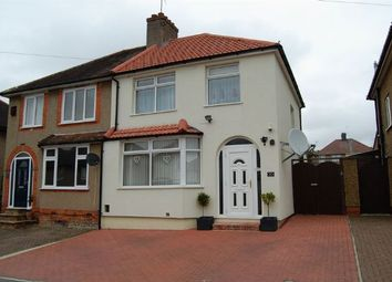 Thumbnail 3 bed semi-detached house for sale in Fullingdale Road, The Headlands, Northampton