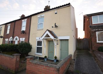 Thumbnail 3 bed terraced house for sale in Rackham Road, Norwich