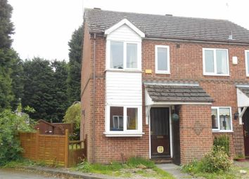 Thumbnail 2 bed semi-detached house to rent in Derventio Close, Derby
